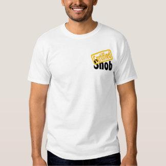 Certified Snob T-shirts