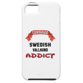 Certified Swedish Vallhund Addict iPhone 5 Covers