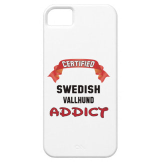Certified Swedish Vallhund Addict Barely There iPhone 5 Case