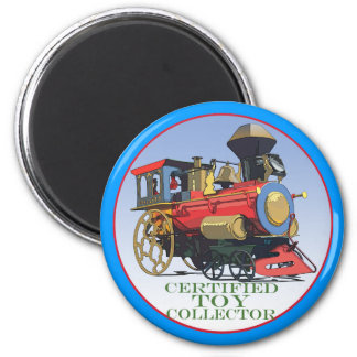 Certified Toy Collector 6 Cm Round Magnet