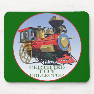 Certified Toy Collector Mouse Pad
