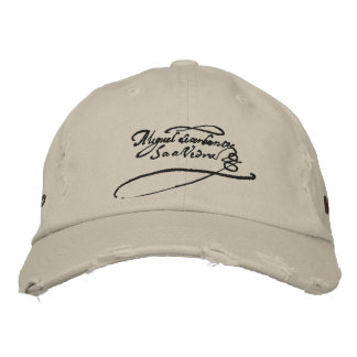 CERVANTES SIGNATURE- Lepanto Veteran Embroidered Hat