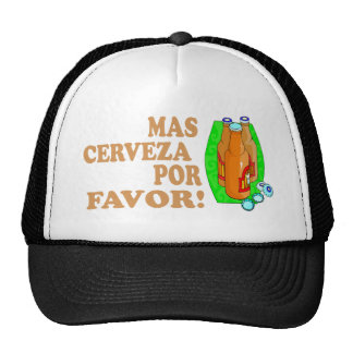 CERVEZA HAT