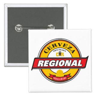 Cerveza Regional Square Button