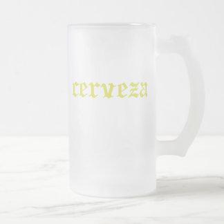 Cerveza Yellow Mug