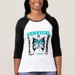 Cervical Cancer Awareness Butterfly Shirt