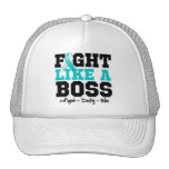 Cervical Cancer Fight Like a Boss Cap