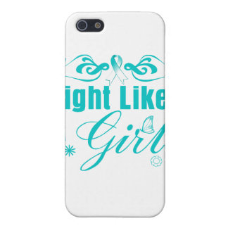 Cervical Cancer Fight Like A Girl Ornate Case For iPhone 5