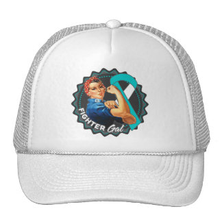 Cervical Cancer Fighter Gal Cap