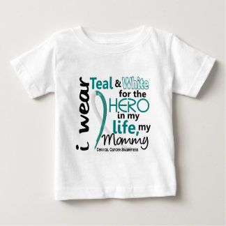 Cervical Cancer For My Hero My Mommy 2 Shirt
