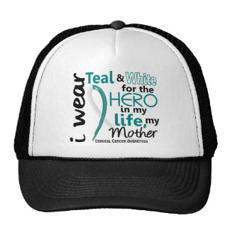 Cervical Cancer For My Hero My Mother 2 Mesh Hats