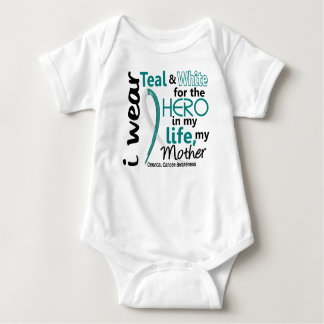 Cervical Cancer For My Hero My Mother 2 Shirts
