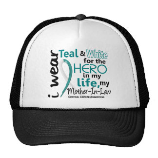Cervical Cancer For My Hero My Mother-In-Law 2 Trucker Hats