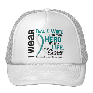 Cervical Cancer For My Hero My Sister 2 Mesh Hats
