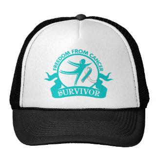 Cervical Cancer - Freedom From Cancer Survivor Mesh Hats