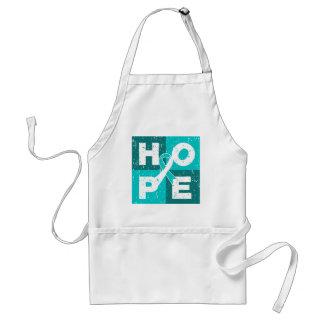 Cervical Cancer HOPE Cube Aprons