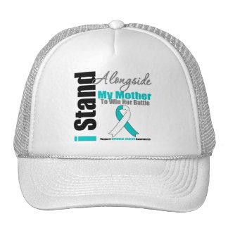 Cervical Cancer I Stand Alongside My Mother Mesh Hat