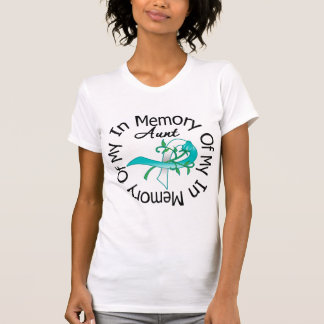 Cervical Cancer In Memory of My Aunt Tee Shirts