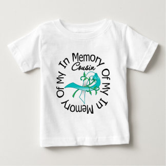 Cervical Cancer In Memory of My Cousin T-shirt