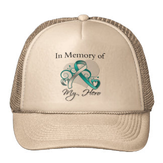 Cervical Cancer In Memory of My Hero Mesh Hat