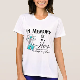 Cervical Cancer In Memory of My Hero Shirts