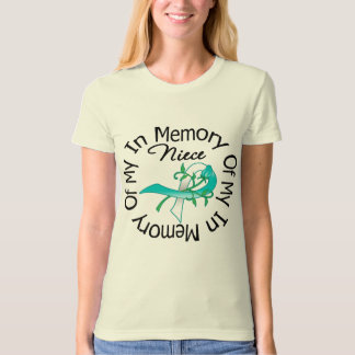 Cervical Cancer In Memory of My Niece Tshirts