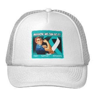 Cervical Cancer Mission We Can Do It Mesh Hat