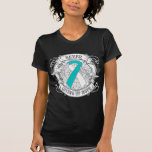 Cervical Cancer Never Giving Up Hope Tee Shirt