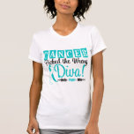Cervical Cancer Picked The Wrong Diva v2 Tee Shirts
