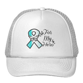 Cervical Cancer Ribbon For My Hero Cap
