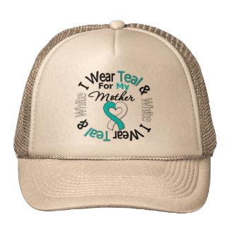 Cervical Cancer Ribbon For My Mother Mesh Hat