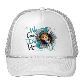 Cervical Cancer Rosie Cartoon WCDI Trucker Hat