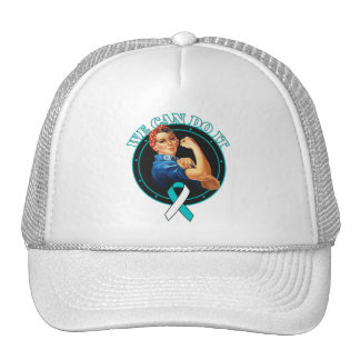 Cervical Cancer - Rosie The Riveter - We Can Do It Cap