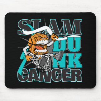 Cervical Cancer - Slam Dunk Cancer Mouse Pad