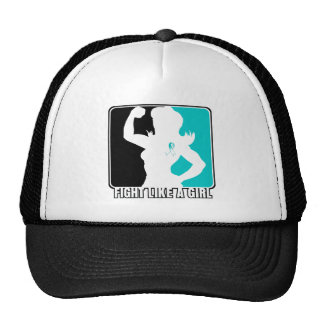 Cervical Cancer Strength Fight Like A Girl Cap