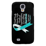 Cervical Cancer Support Strong Survivor Samsung Galaxy S4 Cover