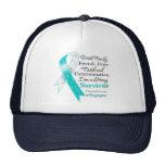 Cervical Cancer Support Strong Survivor Trucker Hat