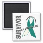 Cervical Cancer Survivor Magnets