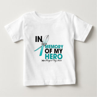 Cervical Cancer Tribute In Memory of My Hero T Shirts