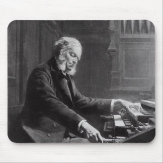 Cesar Franck at the console of the organ Mouse Pad