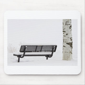 Cesar Melai Love in The Snow Mouse Pad