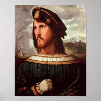 Cesare Borgia Duke of Valencia Print