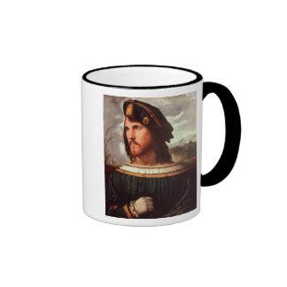 Cesare Borgia  Duke of Valencia Ringer Mug