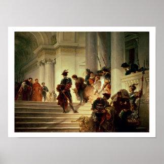 Cesare Borgia leaving the Vatican Posters