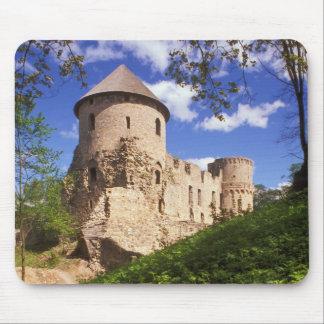 Cesis Castle in central Latvia. Mouse Mat