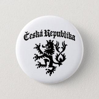 Ceska Republika 6 Cm Round Badge