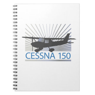 Cessna 150 Airplane Spiral Notebook