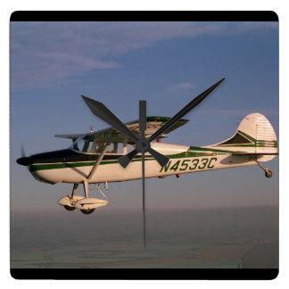 Cessna 170, 1953, Sonoma, CA_Classic Aviation Square Wall Clock