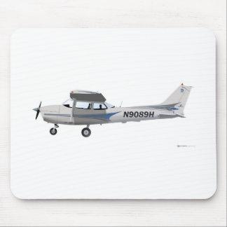 Cessna 172 Skyhawk Blue Mouse Mat