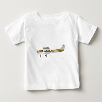 Cessna 172 Skyhawk Brown Baby T-Shirt